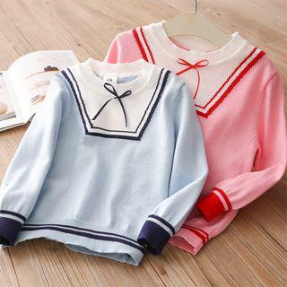 Seashells Kids - Kids Ribbon Bow Sweater