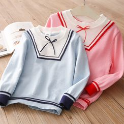 Seashells Kids - Kids Ribbon Bow Sweater