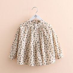 Seashells Kids - Kids Leaf Print Shirt