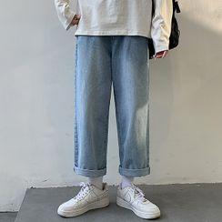 Mr. Right - 九分直筒牛仔裤