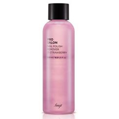 THE FACE SHOP - Pro Salon Nail Polish Remover STRAWBERRY