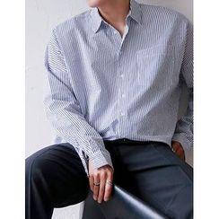 STYLEMAN - Striped Oversized Shirt