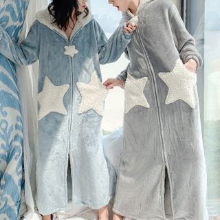 Almilo - Hooded Sleep Robe