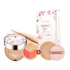 MERBLISS - Wedding Multi Cover Cushion SPF50+ PA+++ With Refill