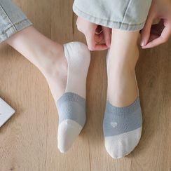 Guliga - 六對套裝: 拼色船襪