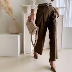 NANING9 - Wide-Leg Dress Pants