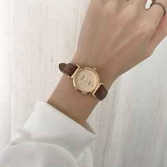ONAJI - 仿皮表带手表