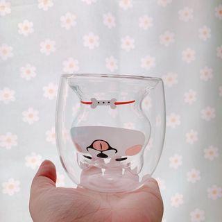 Hello minto - 貓玻璃水杯