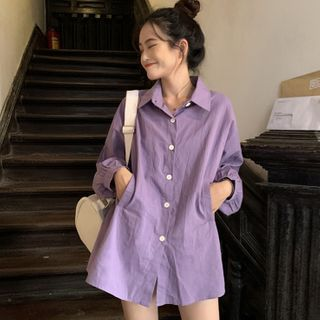 Velero - Long-Sleeve Shirt Dress
