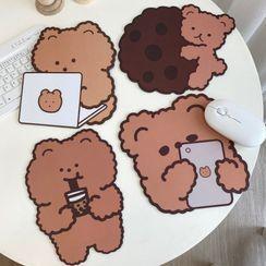 Intimo - Bear Print Mouse Pad