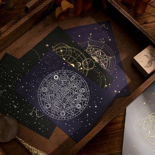 Little Planet - 套裝: 星星印花信封 + 信紙
