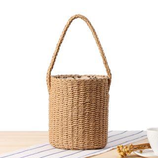 STYLE CICI - 草編籃子手提包