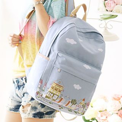 Canvas Love - Print Backpack