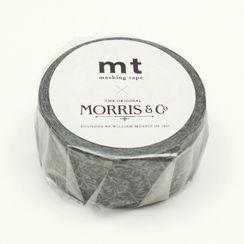 mt - mt Masking Tape : mt×Morris&co.Pure Honeysuckle & Tullip Black ink