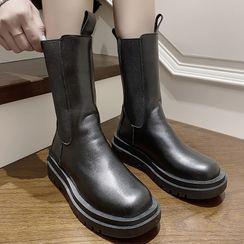 Hipsole - Platform Short Boots