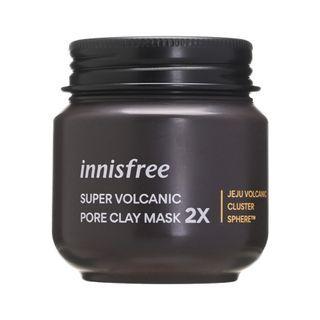 innisfree - Super Volcanic Pore Clay Mask 2X 100ml