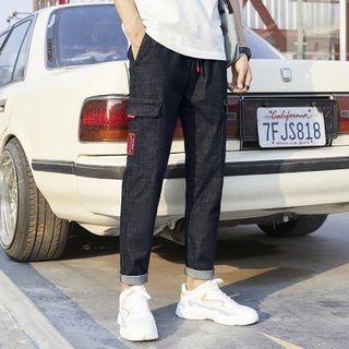 Denimic - 直筒工裝牛仔褲