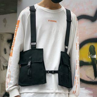 SUNMAN - Plain Chest Rig Belt Bag