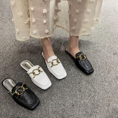 Laceuplux - Loafer Mules