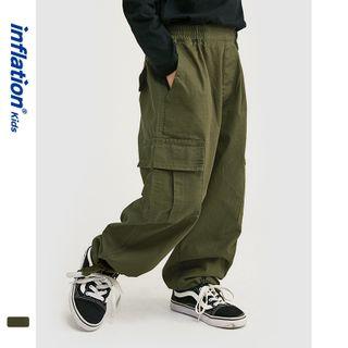 Wolandorf - Kids Tie-Hem Cargo Jogger Pants