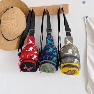 Perlin - Kids Dinosaur Print Sling Bag
