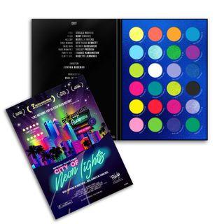 RUDE - City of Neon Lights - 24 Vibrant Pigment & Eyeshadow Palette