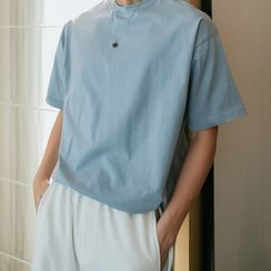 CHIC ERRO - 纯色短袖T裇