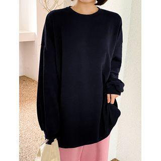 J-ANN - Vivid-Color Oversized T-Shirt