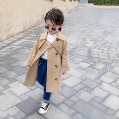Pixie Tutu - 小童双排扣长风衣