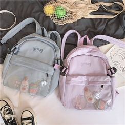 Anna Momo - Buckled Backpack