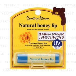 Country & Stream - Honey UV Lip Balm HM SPF 20 PA++