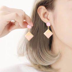 LIVSIA - Plate Earring