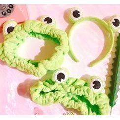 Michu - カエルのヘアバンド(デザイン色々)