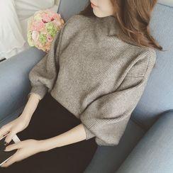 Smooch - Lantern-Sleeve Sweater