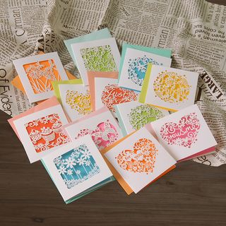 DAILYCRAFT - Paper Cutout Greeting Card (various designs)