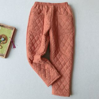 Vateddy - Quilted Harem Pants