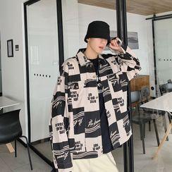 Jozev - Color-Block Cargo Shirt Jacket