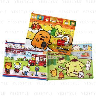 Sanrio - A4 Two Zippers Folder 1 pc - 13 Types