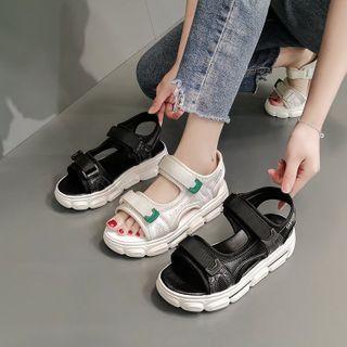 hunigala - Platform Self Adhesive Strap Athletic Sandals