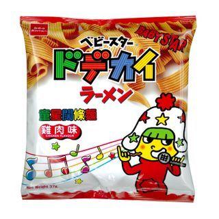 Three O'Clock - Oyatsu Baby Star Snack Dodekai Noodle Ramen Chicken Flavor 37g