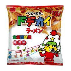Oyatsu - Baby Star Snack Dodekai Noodle Ramen Chicken Flavor 37g