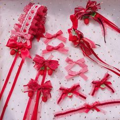 Rega - Strawberry Hair Clip (Various Designs)