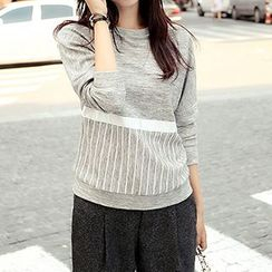 Romantica - Stripe Knit Top