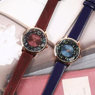 Epoca - Rhinestone Strap Watch Box Set