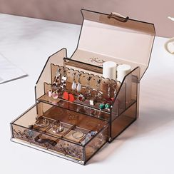 Cutie Pie - Transparent Plastic Jewelry Box