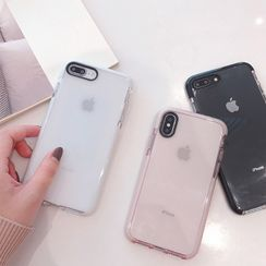 Primitivo - 透明手机套 - 苹果 iPhone  11 / 11 Pro /  Max / 6S / 6S Plus / 7 / 7 Plus / 8 / 8 Plus / X / XS / XS MAX / XR / SE