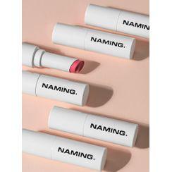 NAMING - Soft Matt Lipstick - 10 Colors