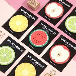 Full House - plan d-Fruit Print Sticky Note