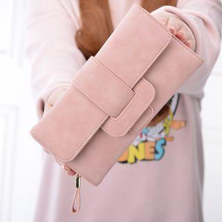 Natalis - Faux Leather Long Wallet