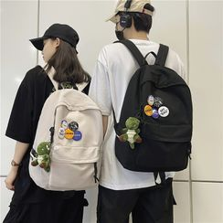 Novila(ノビラ) - Plain Zip Backpack